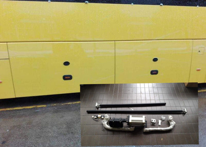 Pneumatic Control Bus Luggage Door Mechanism With Cylinder Left And Right